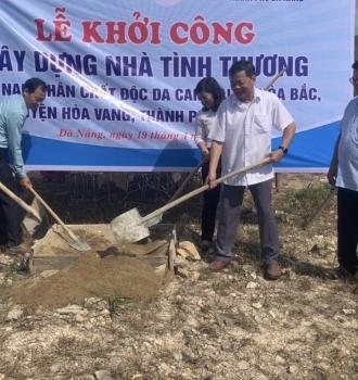 Tổng Công ty Khí Việt Nam - PVGAS hỗ trợ, giúp đỡ NNCĐDC Đà Nẵng