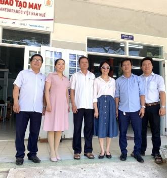 Tổ chức Chữ thập xanh-Thụy Sỹ Cam kết hỗ trợ, giúp đỡ NNCĐ da cam Đà Nẵng 260 triệu đồng